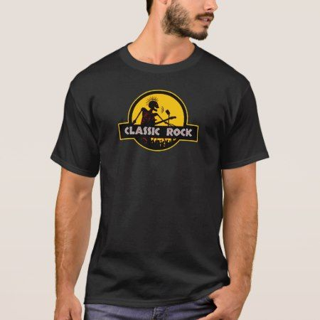 Classic Rock T-Shirt! T-Shirt - tap to personalize and get yours