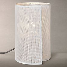 Buy House by John Lewis Swirl Table Lamp, White Online at johnlewis.com