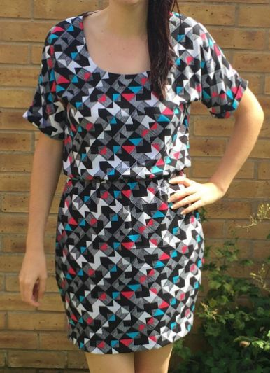 Rachel's Bettine dress - sewing pattern by Tilly and the Buttons