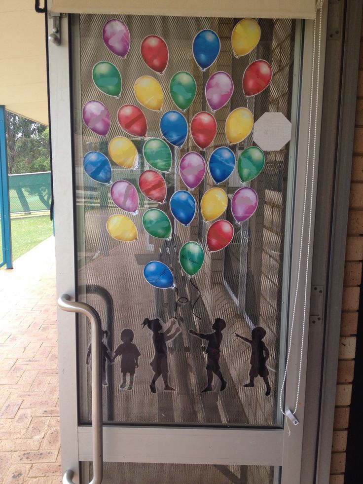 Start Of The Year Names On The Classroom Door Display For