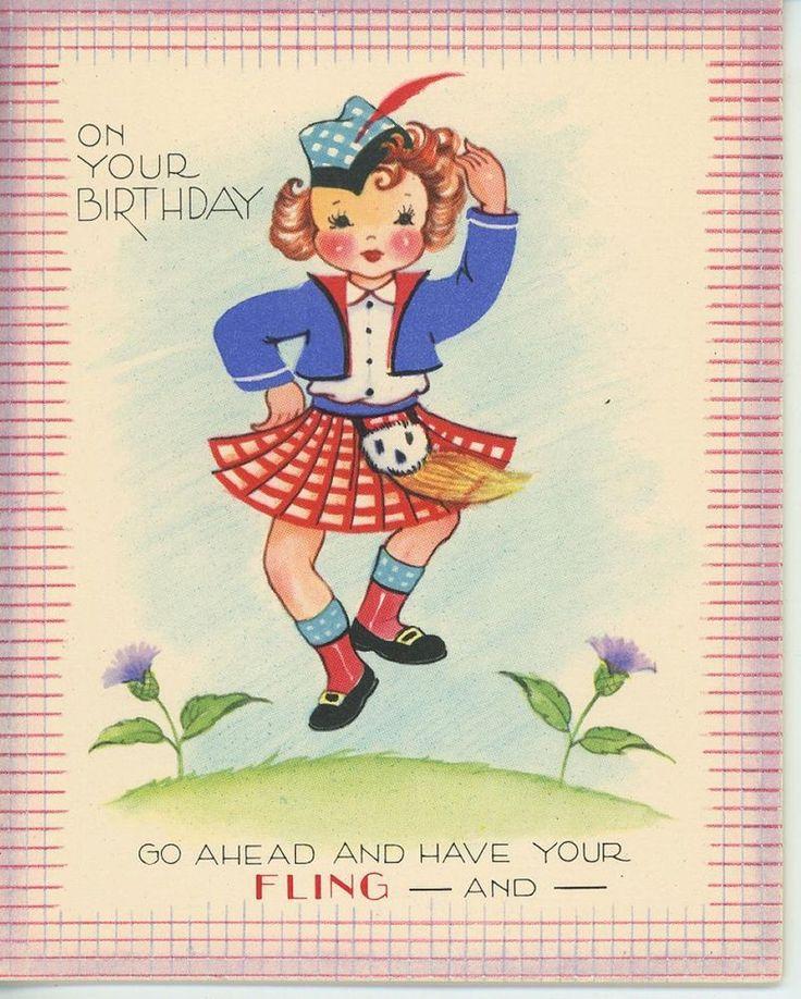 Scottish happy birthday greeting pictures to pin on pinterest scottish birthday card lips wwbi14 cards 500x500 vintage m4hsunfo
