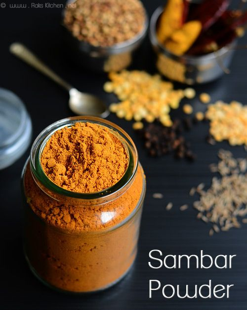 Homemade sambar powder recipe (2 versions, 2 recipes) Grind your own universal sambar powder that can be used for all curry, kootu and of course Sambar! And save some bucks!