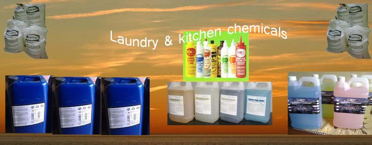 laundry and kitchen chemicals