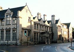 The King's School is a British grammar school with academy status for boys, in the market town of Grantham, in Lincolnshire, England.