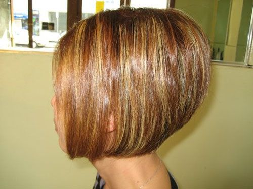 Messy Bobs Hairstyle Back Views | 2013 Short Bob Hairstyles for Women | 2013 Short Haircut for Women