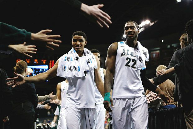 Nate Silver's NCAA tournament predictions give Michigan State 77 percent chance of beating Harvard, making Sweet 16 | MLive.com