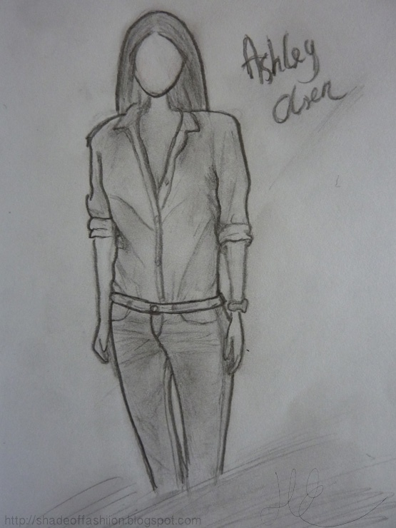 Shade of Fashiion - #ashley #olsen #fashion #drawing #sketch #art