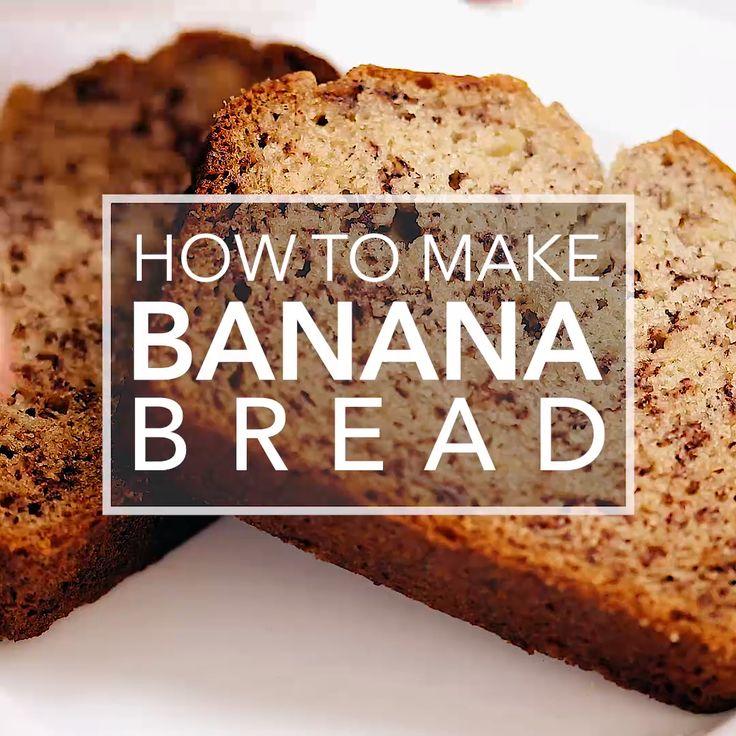 Wie man Bananenbrot macht