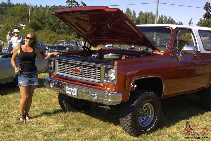 Chevrolet : Blazer K5