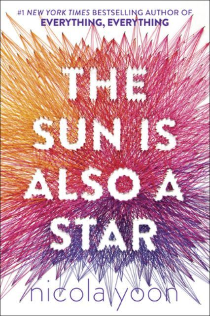The Sun Is Also A Star, Nicola YoonYoon's latest novel is already a National Book Award Finalist. The book follows two teenagers who both have believed they don't have the time or inclination to fall in love— until they meet each other. ...