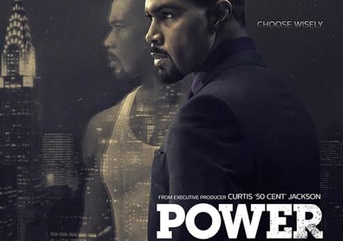 """Power (Starz-June 7, 2014) drama TV Series, 9pm/ET. Created by Courtney Kemp-Agboh, produced by rapper Curtis """"50 Cent"""" Jackson. The series follows James St. Patrick, nicknamed """"Ghost"""", owner of a popular New York City nightclub, and major player in one of the city's biggest illegal drug networks. He struggles for balance between both businesses, trying to leave one, to support the other business. Stars: Omari Hardwick, Naturi Naughton, Joseph Sikora, Leslie Lopez, and Jovanni Gomez."""