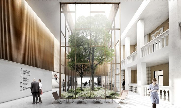 Competition Entry: WE architecture and CREO ARKITEKTER A/S' Proposal for New Medical Center Moscow