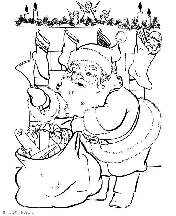 vintage christmas coloring sheets santa delivers christmas coloring pages christmas coloring pages christmas coloring pages coloring pages
