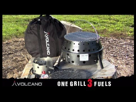 Emergency Stove - Volcano Grill - YouTube