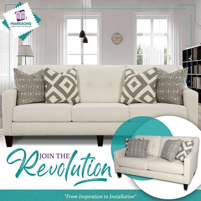 Join The Revolution Get This Off White Sofa And Loveseat Made With Revolution Performance Fabric At Marksons Today Woven With Clean Sofa Fabric Clean Sofa Furniture