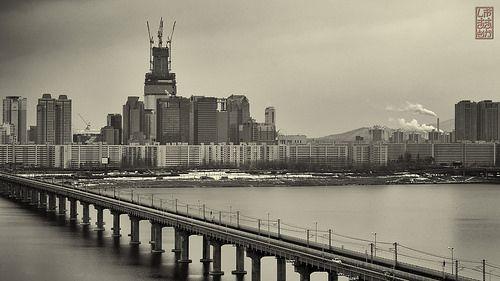 Hanggang river Korea