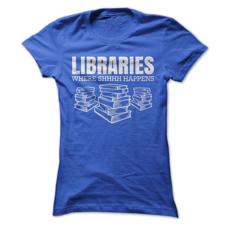 Libraries…Where Shhh Happens