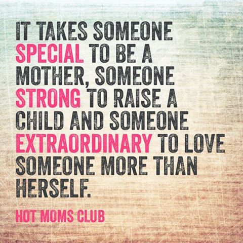 Moms... we're pretty amazing! #motherhood #love | Hot Moms Club