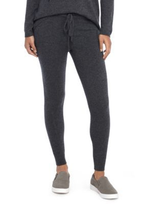 The Limited Women's Cashmere Legging - Chalkboard - Xs