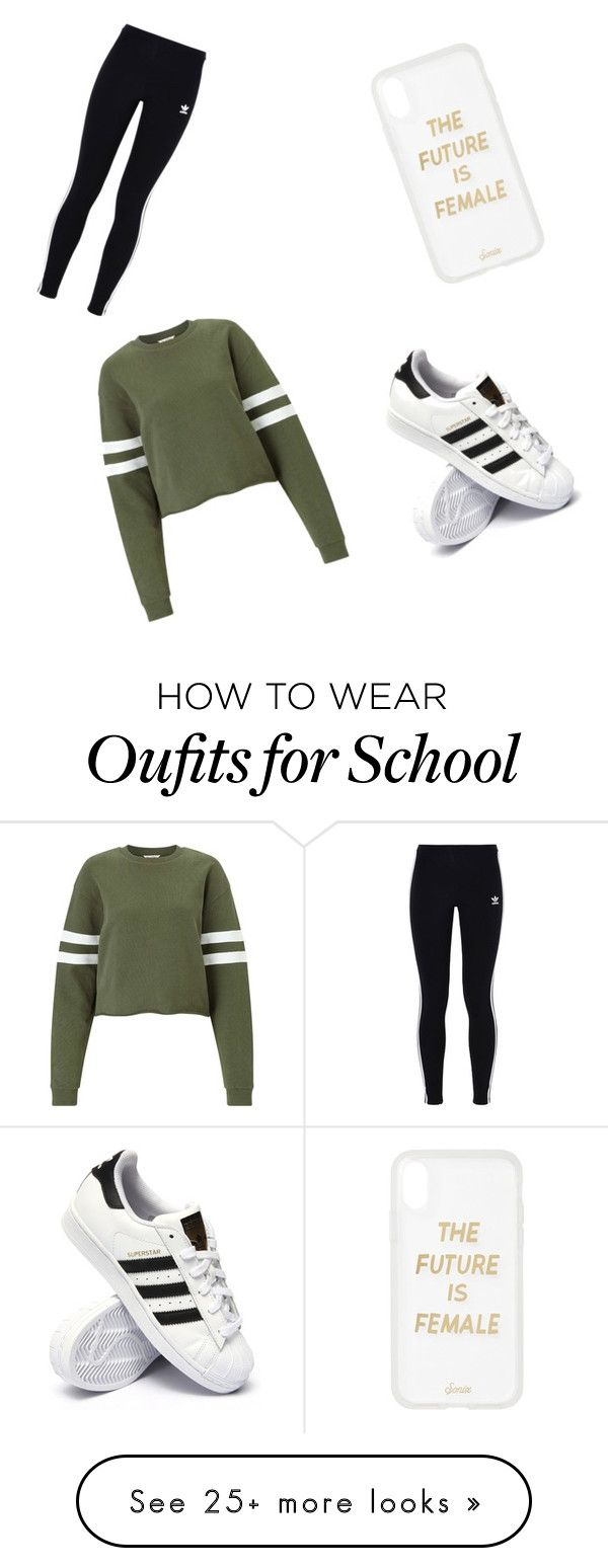 """""""Back To School"""" by jean7814 on Polyvore featuring Miss Selfridge, adidas Originals, adidas and Sonix"""