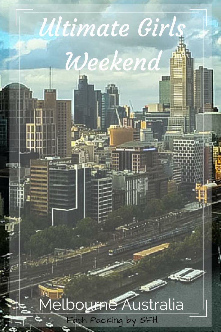 Melbourne is the perfect destination for a girly weekend. Here's a great itinerary to get you started http://bit.ly/1WyPqw3