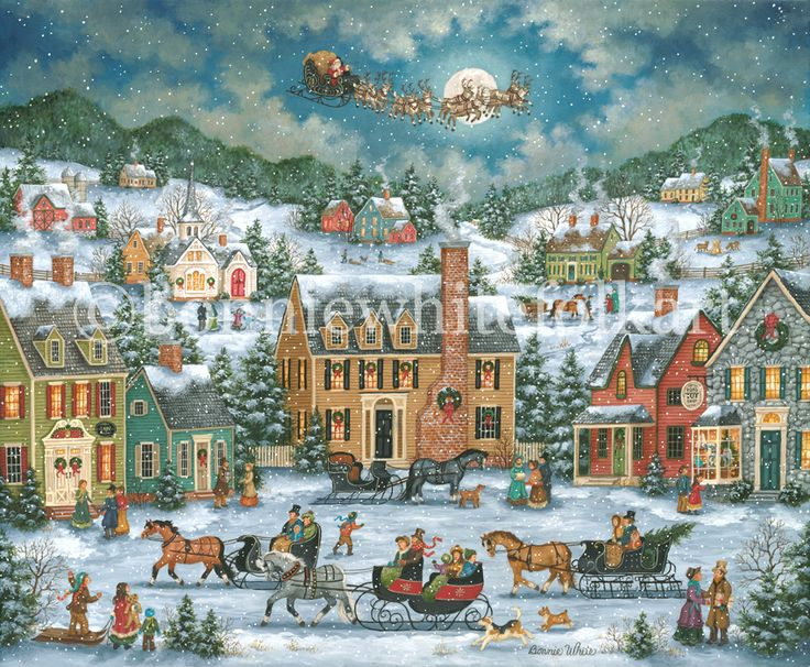 christmas artist paintings - thebridgesummit.co