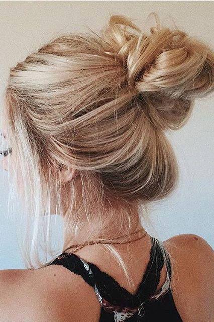 Wondrous 1000 Ideas About Perfect Messy Bun On Pinterest Messy Buns Short Hairstyles Gunalazisus