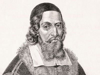 """Jan Amos Komenský / John Amos Comenius, the teacher of the nations:  """"Much can be learned in play that will afterwards be of use when the circumstances demand it."""""""