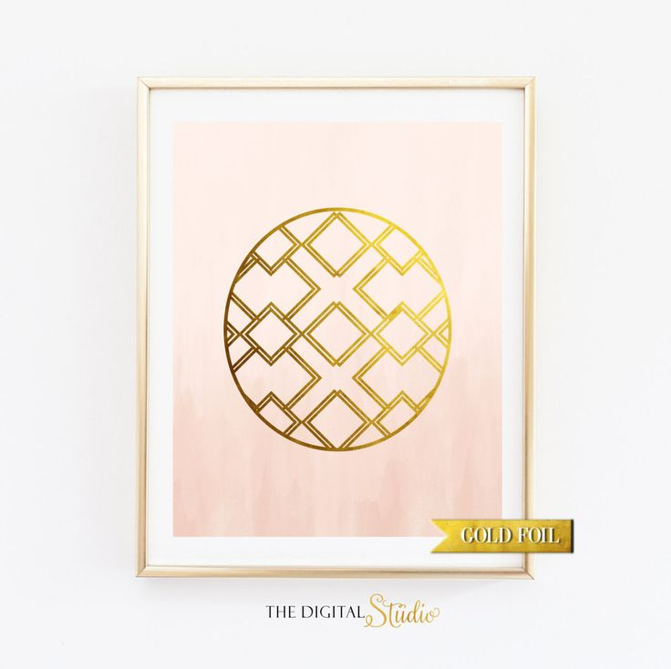 Gold Foil Wall Art 128 best the digital studio shop images on pinterest   nursery