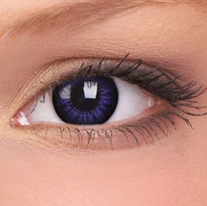 Ultra Violet Big Eyes Contact Lenses (Pair) - buy them at www.youknowit.com #contactlenses #fancydress