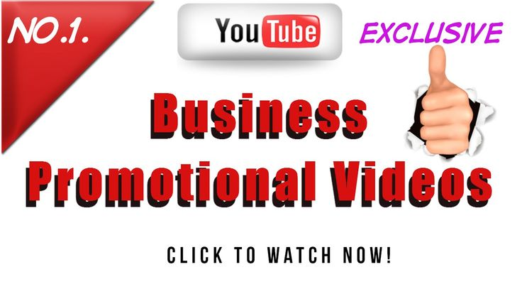 Liked on YouTube: Business Promotional Videos BIZVIDUK Promotional Videos For Business