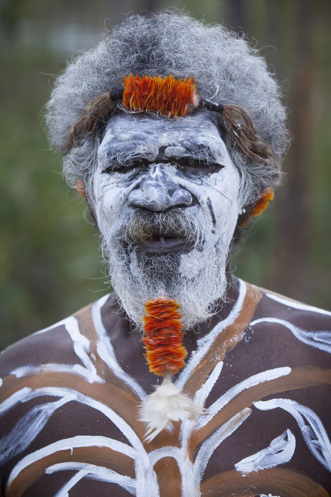 Senior Gumatj (Indigenous Australian) elder Djunga Djunga Yunupingu presided over festivities at Gulkula in the Northern Territory's Arnhem Land for the Garma 2014 Festival [August 1-4, 2014]. This is an event during which indigenous Australians share their culture with the community as well as raising awareness about issues in Australia's current indigenous policy.