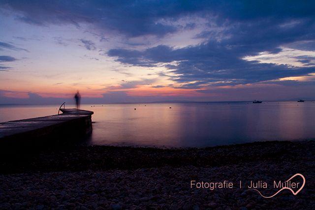 still #sunset #smooth #water #Mediterranean #sea #pag #camping #strasko #pag #novalja