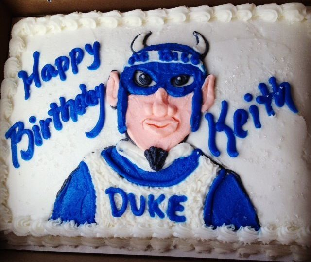 My 39 th. Birthday cake #GoDuke