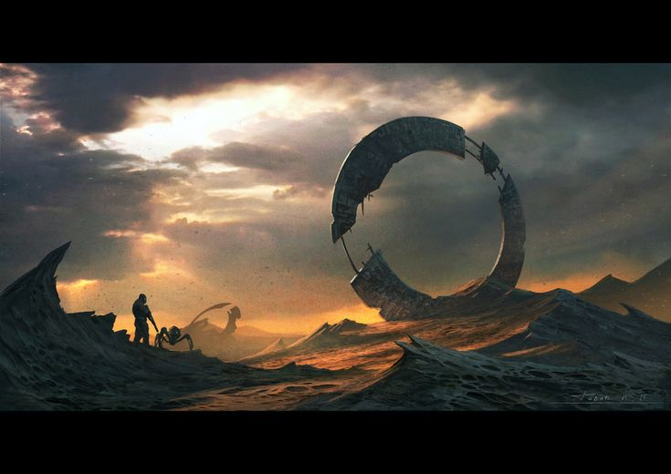 Something by draken4o soldier robot ruins alien landscape location environment architecture | Create your own roleplaying game material w/ RPG Bard: www.rpgbard.com | Writing inspiration for Dungeons and Dragons DND D&D Pathfinder PFRPG Warhammer 40k Star Wars Shadowrun Call of Cthulhu Lord of the Rings LoTR + d20 fantasy science fiction scifi horror design | Not Trusty Sword art: click artwork for source