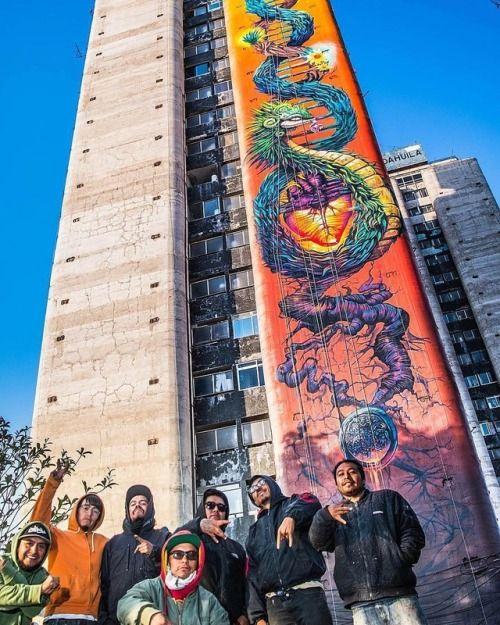 La Serpiente Emplumada. Por @xfamiliacrew en Tlatelolco #CDMX...