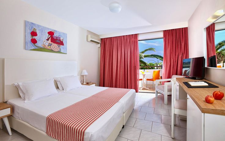 ZEPHYROS BEACH - Double Room with Garden or Pool view