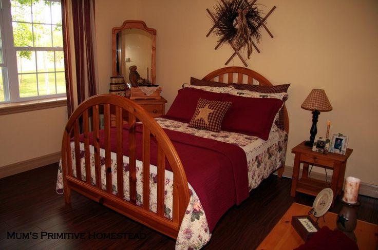 primitive country bedroom primitive country bedrooms primitive d cor