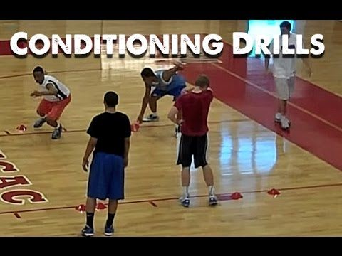 DeMatha Basketball Competitive Conditioning Drills (2010) - YouTube