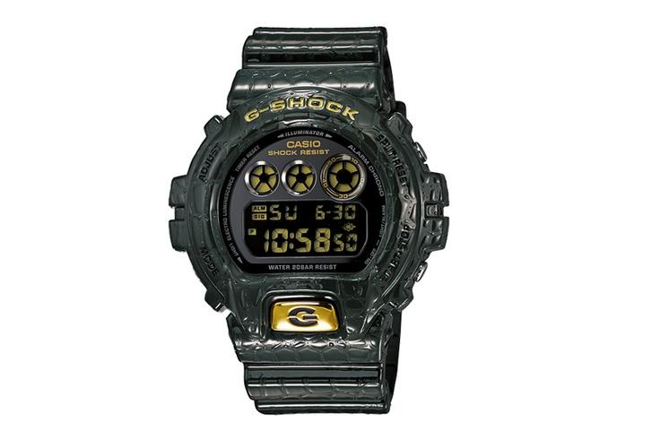 G-Shock DW-6900 Reptile Pack October 2012