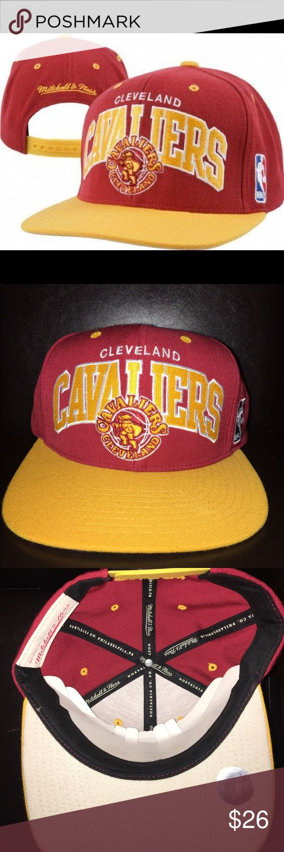 Cleveland Cavaliers Team Arch SnapBack In great condition, Cleveland Cavaliers Team Arch SnapBack Mitchell & Ness Accessories Hats