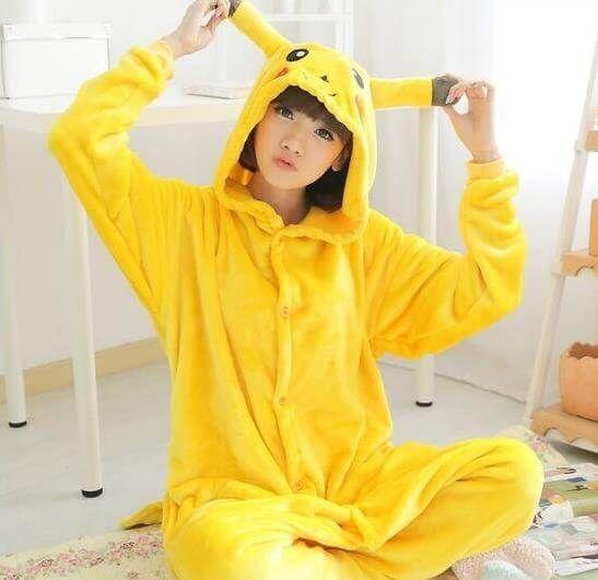 #Pokemon Pikachu Kigurumi, #cute Cartoon #pajama | Use onesiesave10 #coupon for 10% off with free shipping