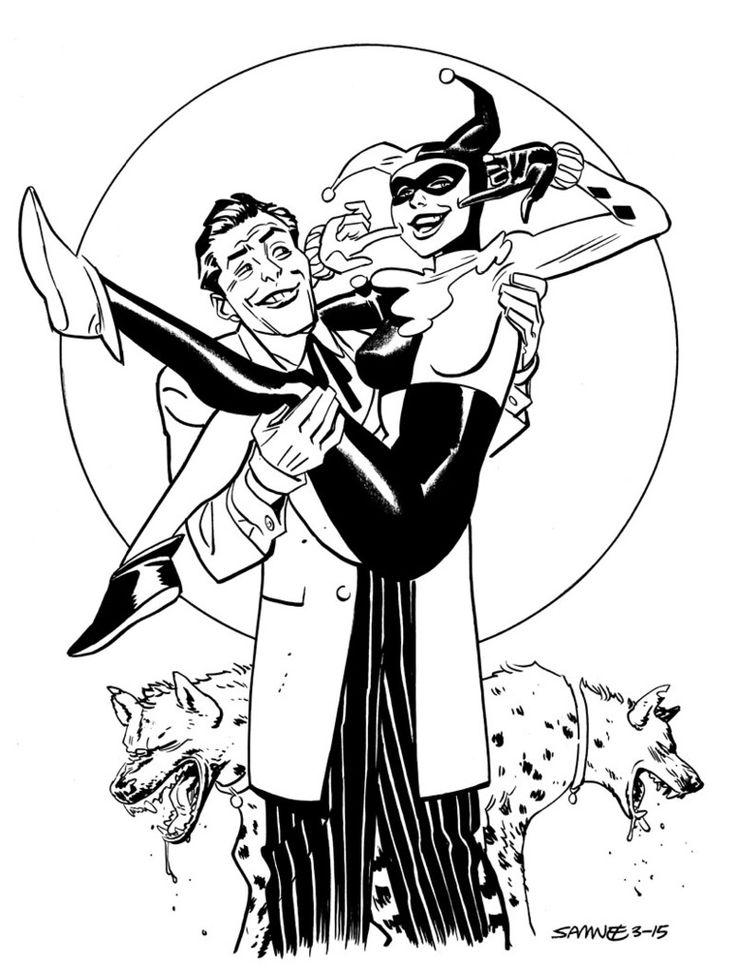 harley quinn and the joker by chris samnee
