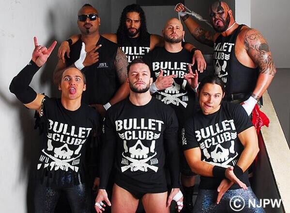 Bullet Club: Members Of The Bullet Club #BulletClub #NJPW