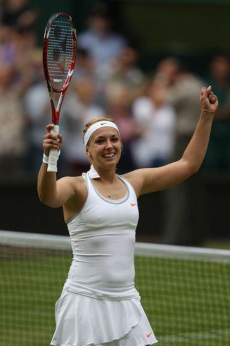 Wimbledon 2013, Round 4 - Yonex Tennis, Sabine Lisicki