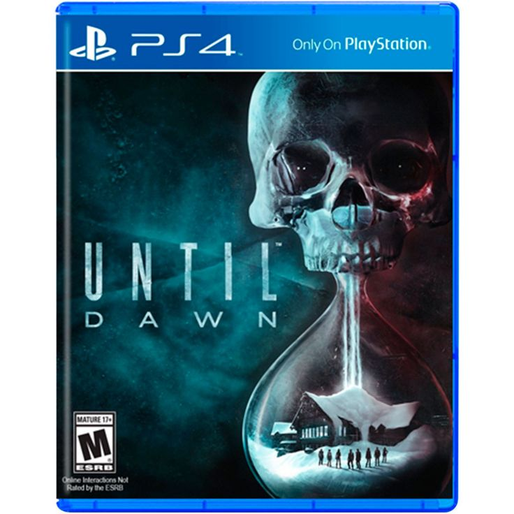 PS4 Until Dawn; un juego de terror y aventura desarrollado por Supermassive Games bajo la producción de Sony. El título nos cuenta la historia de un grupo de adolescentes que están pasando una noche en medio del bosque conmemorando el aniversario de la mu