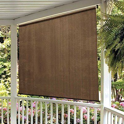 20 best exterior shades images on pinterest exterior for Outdoor roll up privacy screens