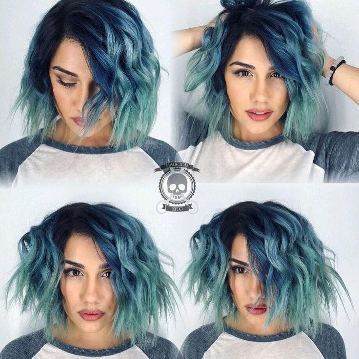 ♠Rickey Zito Circus Freak ONE Hairdressing,  LA, West Hollywood  Pulp Riot Hair Brazilian Bond Builder ILOVEHAIR  Fiidnt