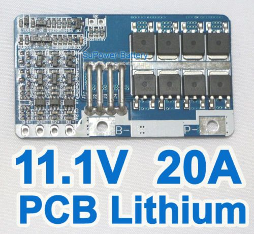 PCB-10-8V-11-1V-12V-20A-3S-Li-ion-Lithium-Battery-Input-Ouput-Protection-Board