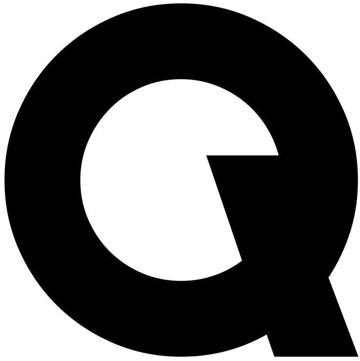 "Saschalobe: "" Glyph, Modeschule Stuttgart, 2014, L2M3 "" . Geometric Logo . Q Letter . Timeless Design ."